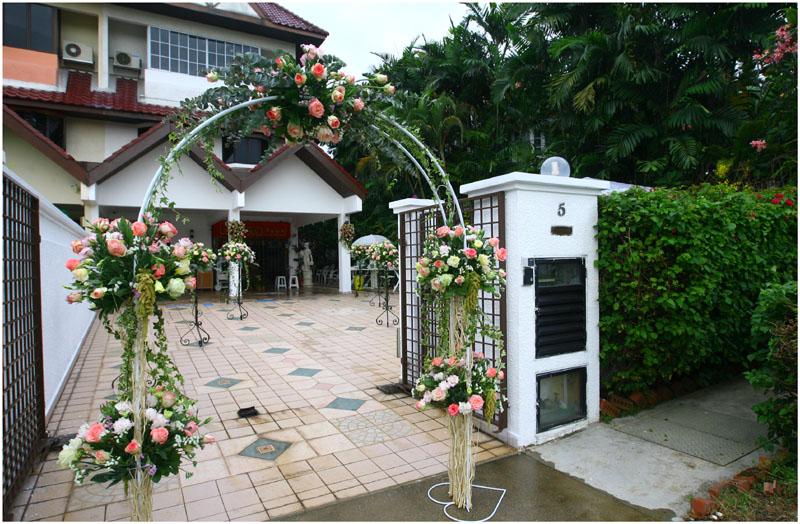small home wedding ideas