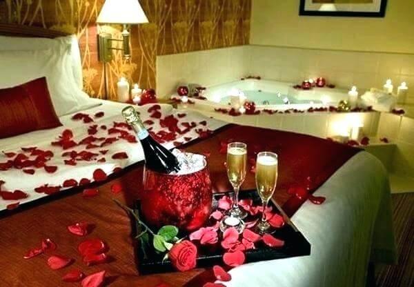 wedding bedroom style