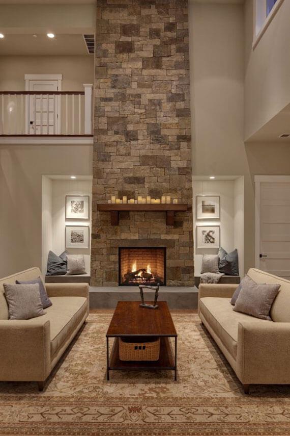 fireplace hearth