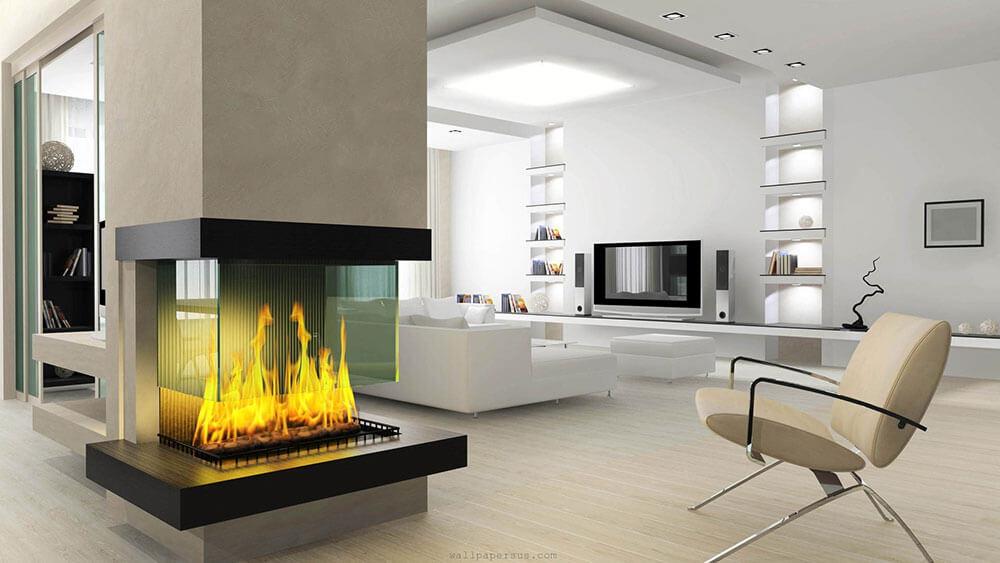 modern fireplace ideas uk