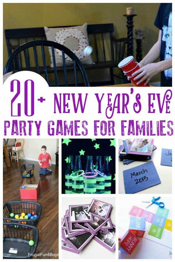 New Year Party Games Ideas at Home 2020