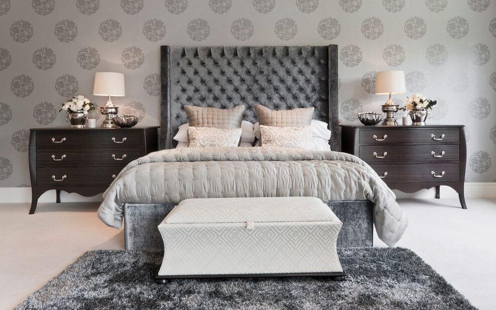 Floral-bedroom-wallpaper-design