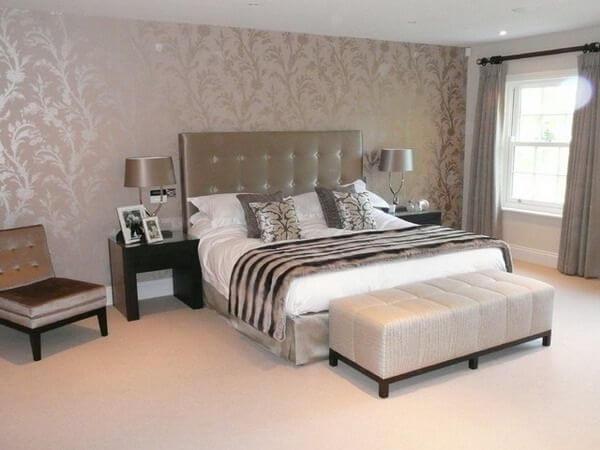 brick wallpaper bedroom ideas