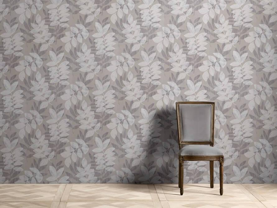 flocked damask wallpaper