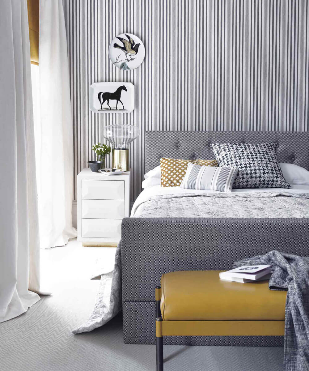 grey-and-yellow-bedroom