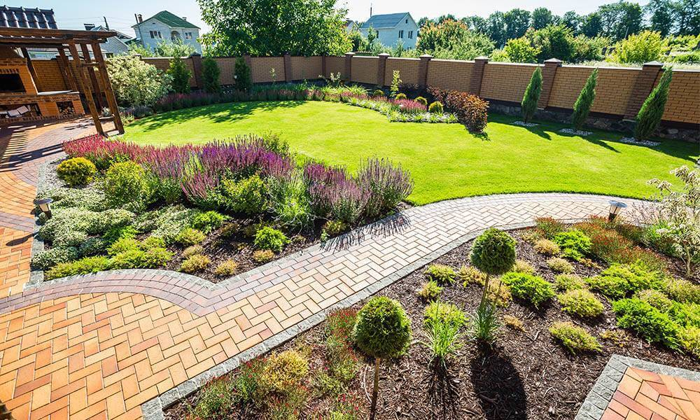 landscape garden ideas UK