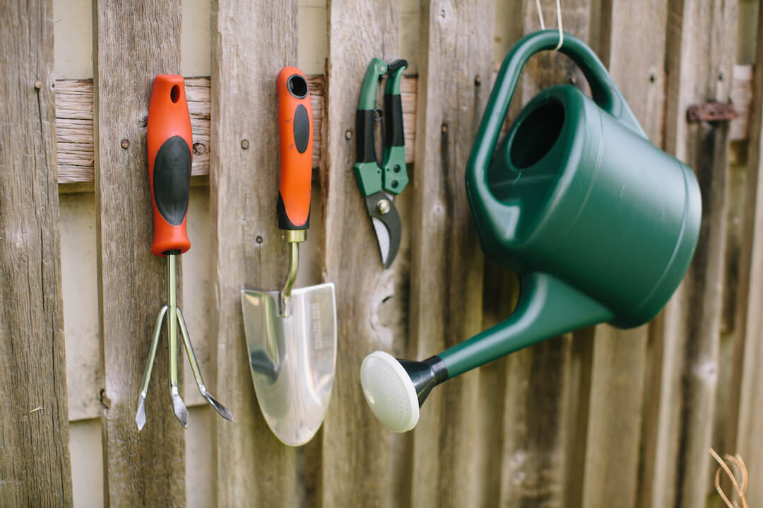 Garden tools ideas