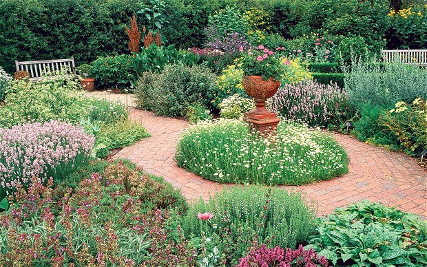 the herb garden ideas