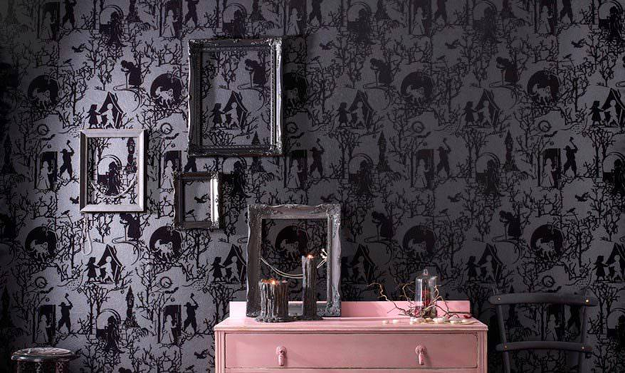30 Best Flocked Wallpaper Ideas