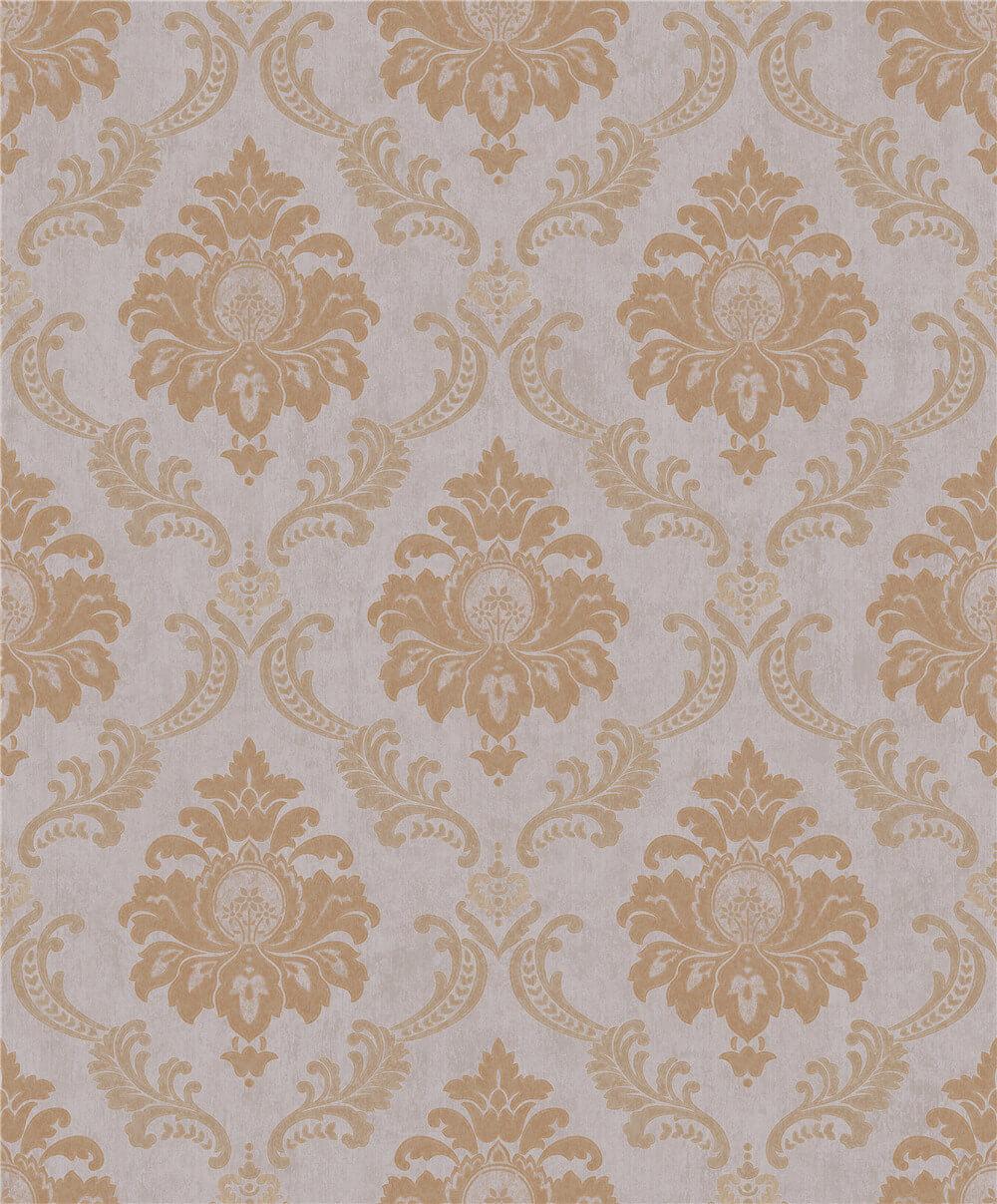 vintage flocked wallpaper