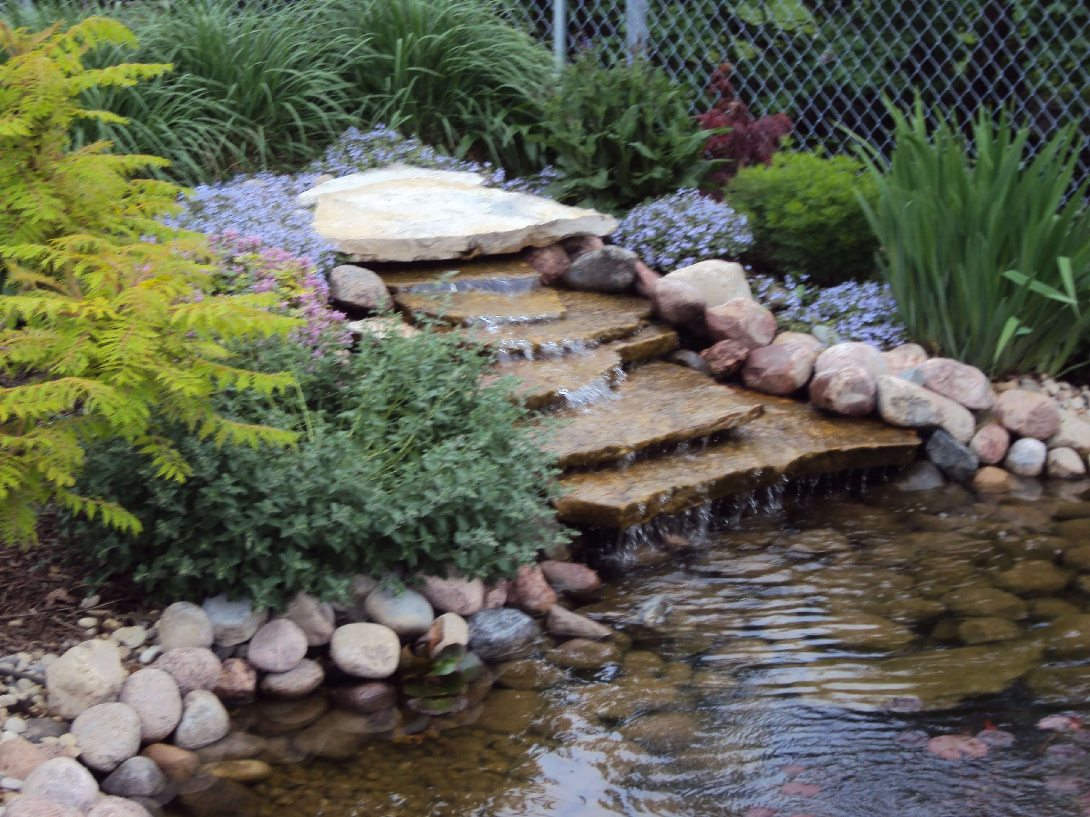 water garden ideas UK