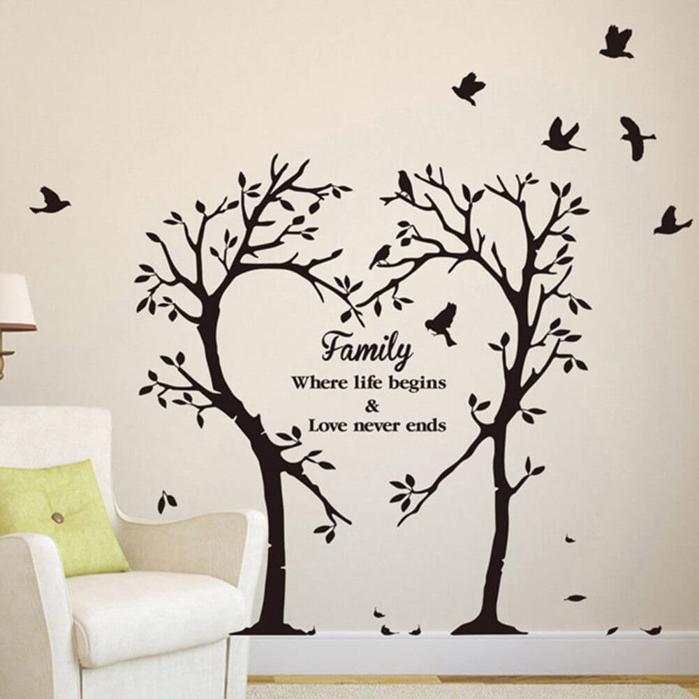 Wall Decoration With Decals