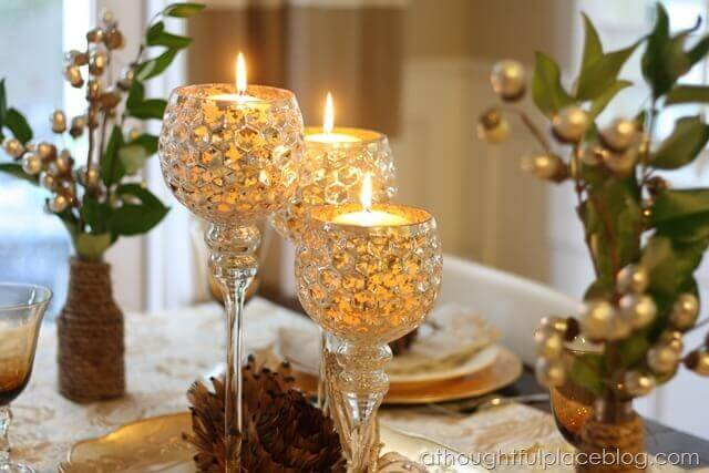 candle table decorations