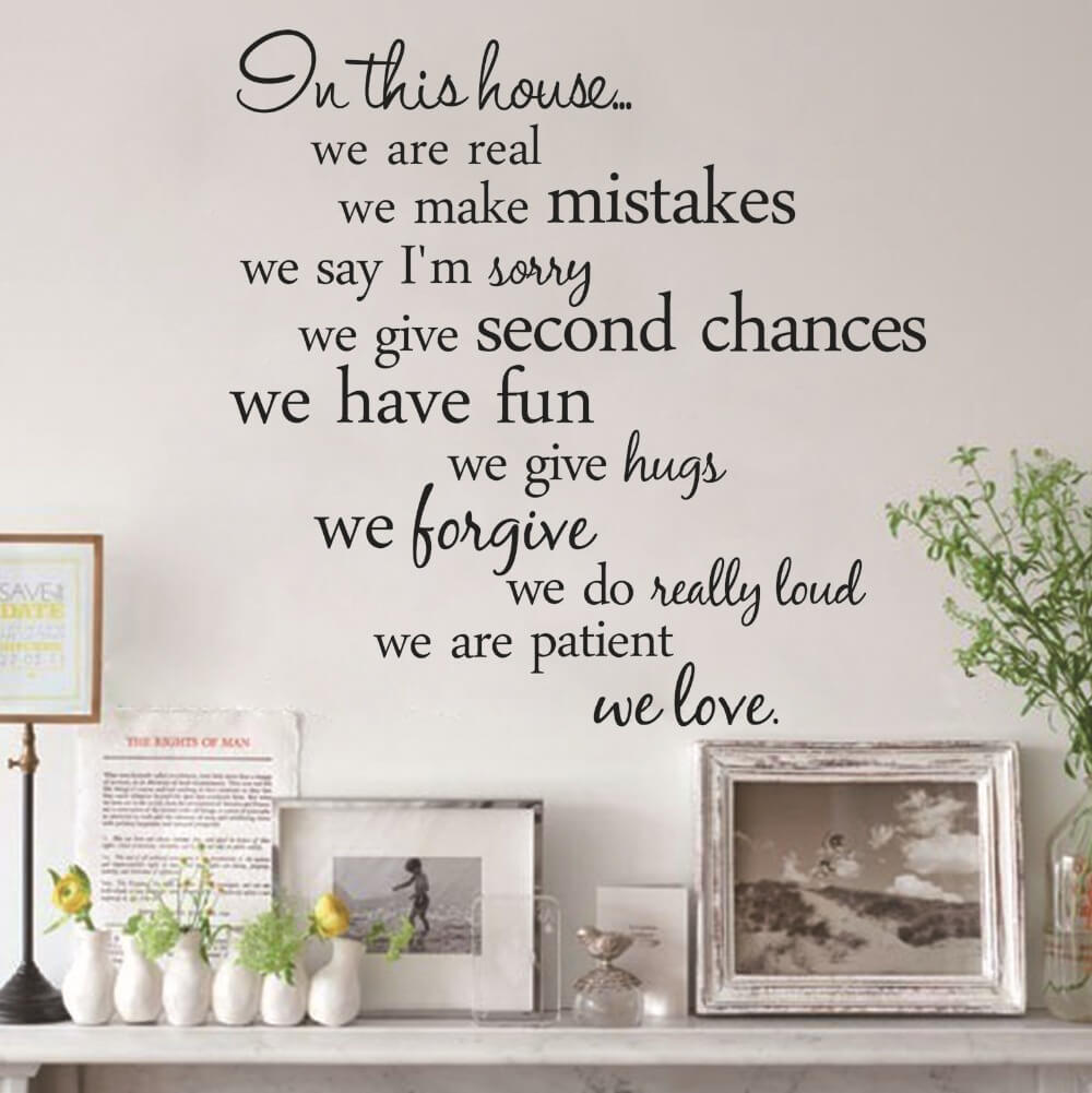 decorating with wall decals ideas