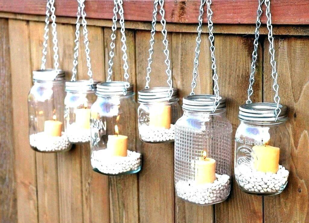 decorative candle holder set