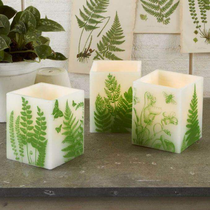 dining table decor candles