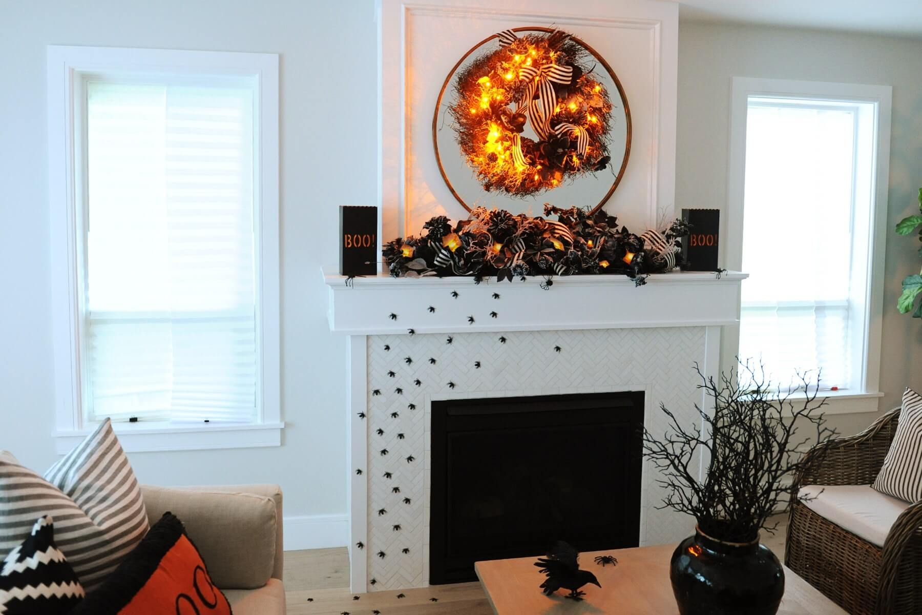 halloween decorating ideas for inside the home
