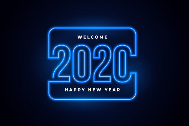 Happy New Year 2020 Background Hd