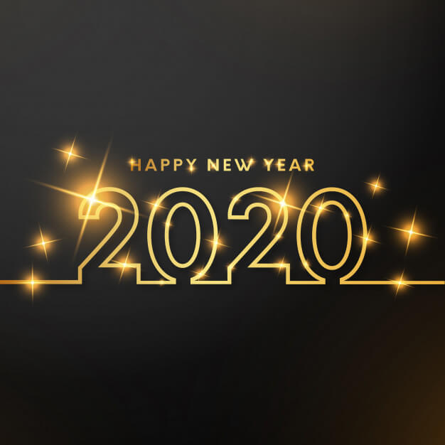 Happy New Year 2020 Background