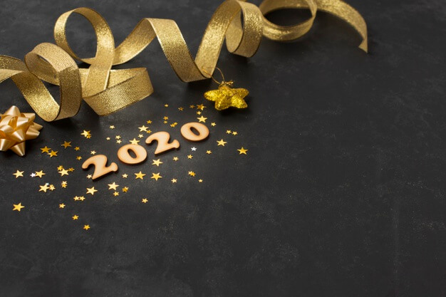 Happy New Year 2020 Desktop Wallpapers