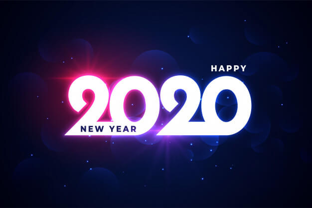 Happy New Year 2020 In Advance