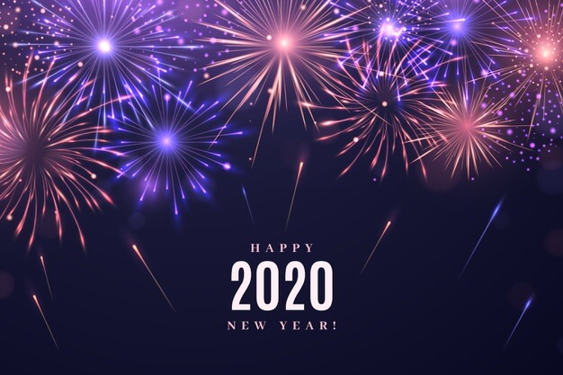 Happy New Year 2020 Screensaver