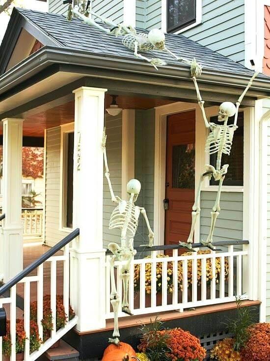 homemade halloween decor