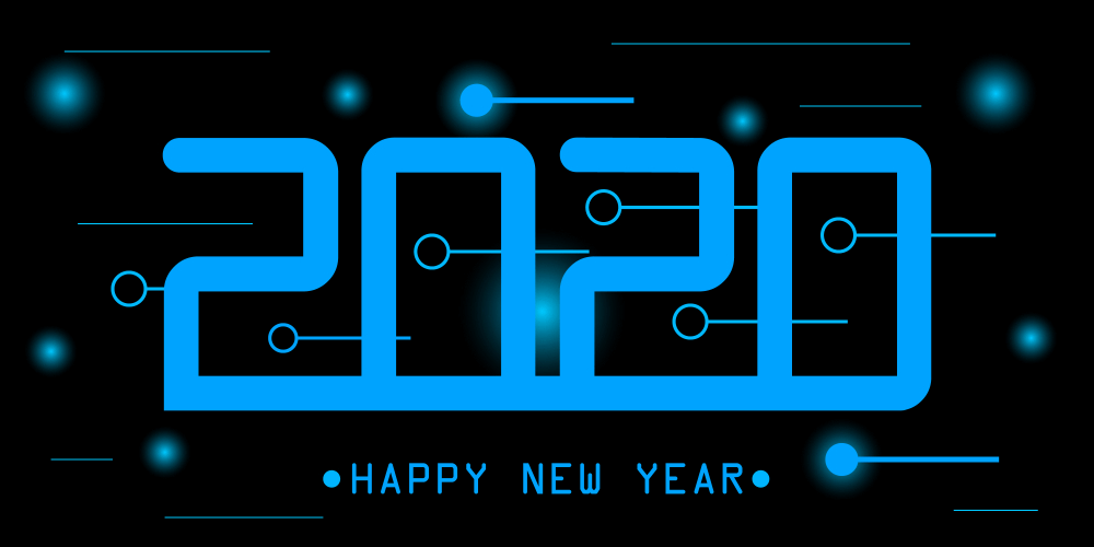 new year 2020 wallpaper for computer desktop