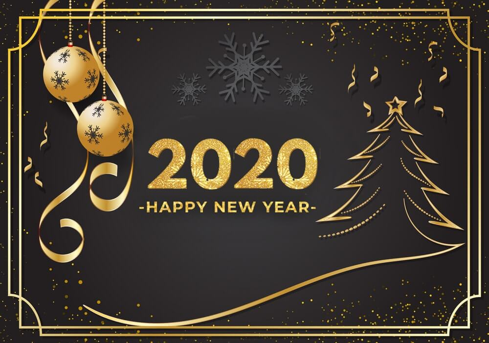 new year 2020 wishes live wallpaper