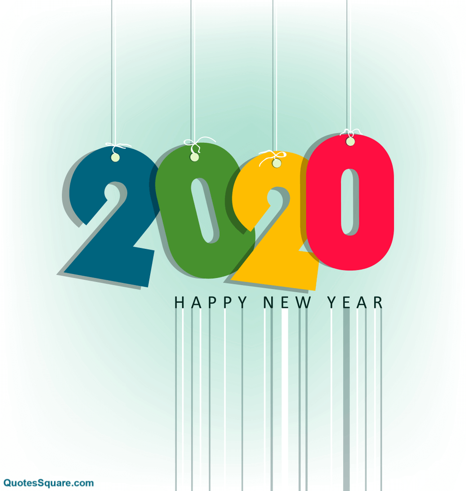 new year desktop wallpapers 2020