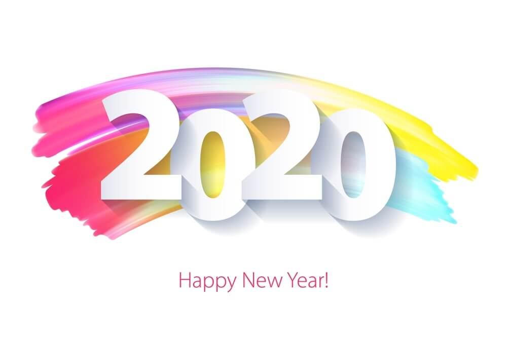 new year wallpaper 2020 free