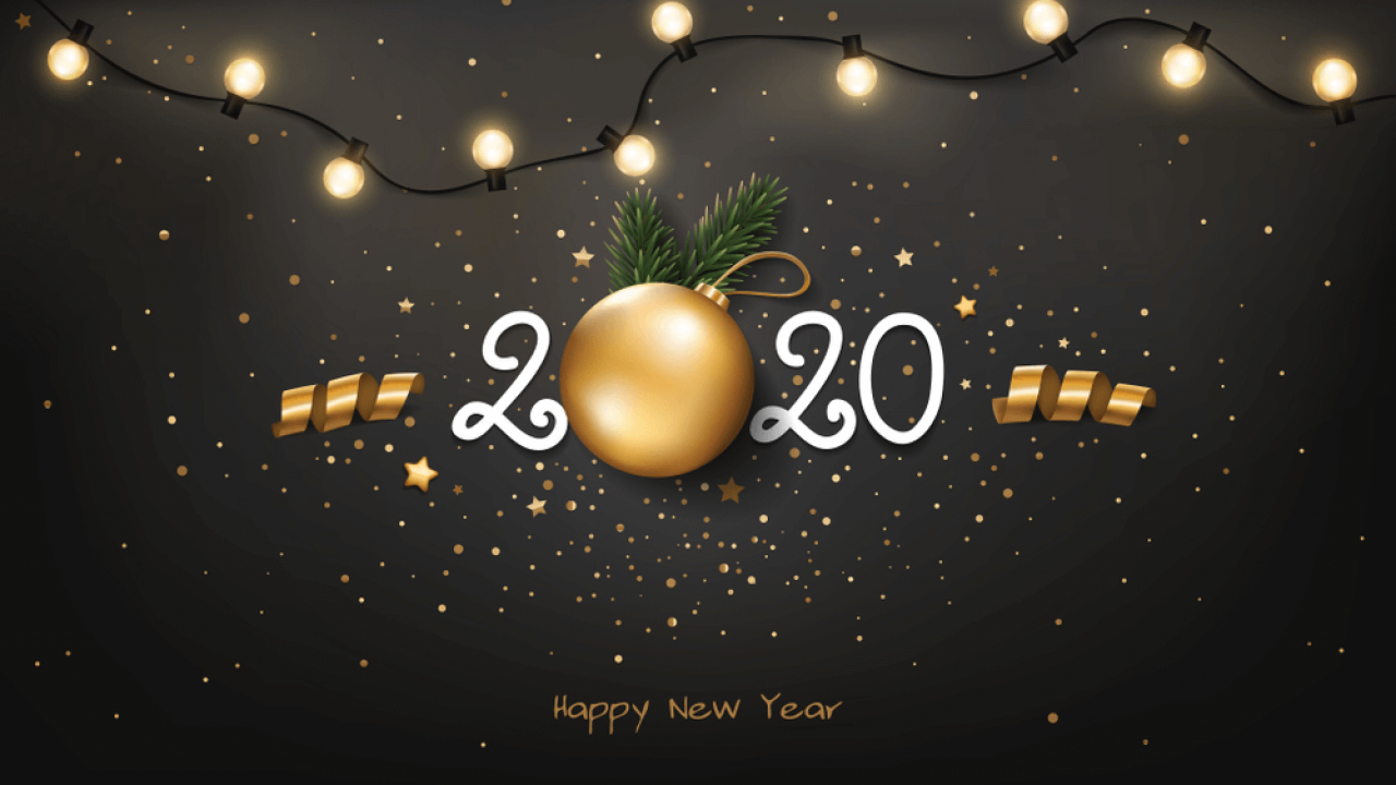 Happy New Year 2020 Wallpaper, Background Images Ideas