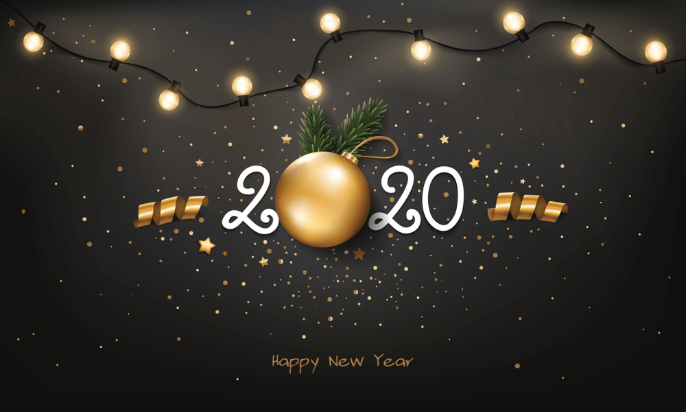 Happy New Year 2020 Wallpaper Ideas