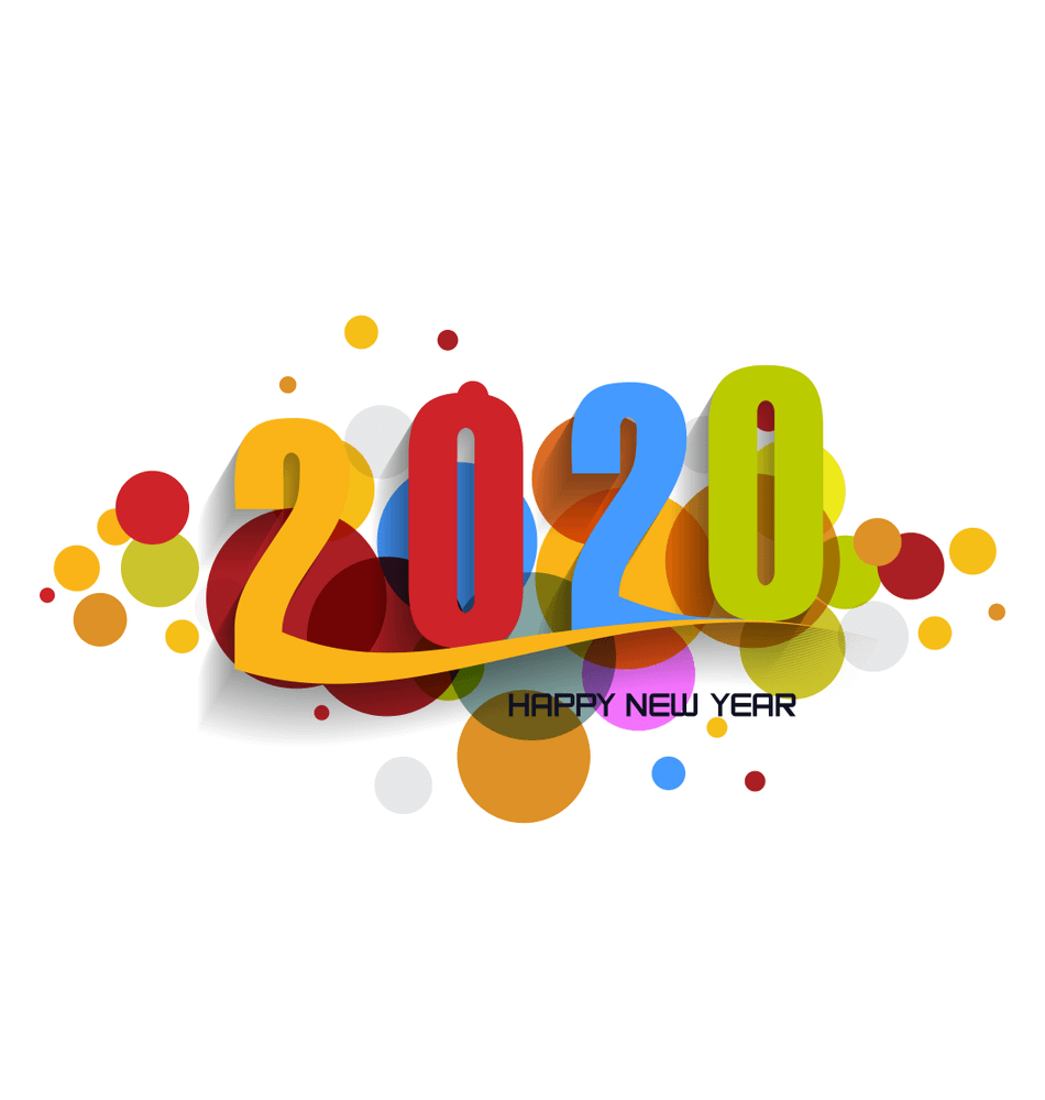 pictures of happy new year 2020