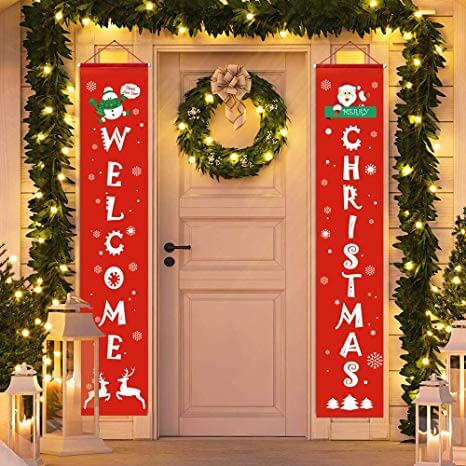 Unique Christmas Door Decorations Ideas