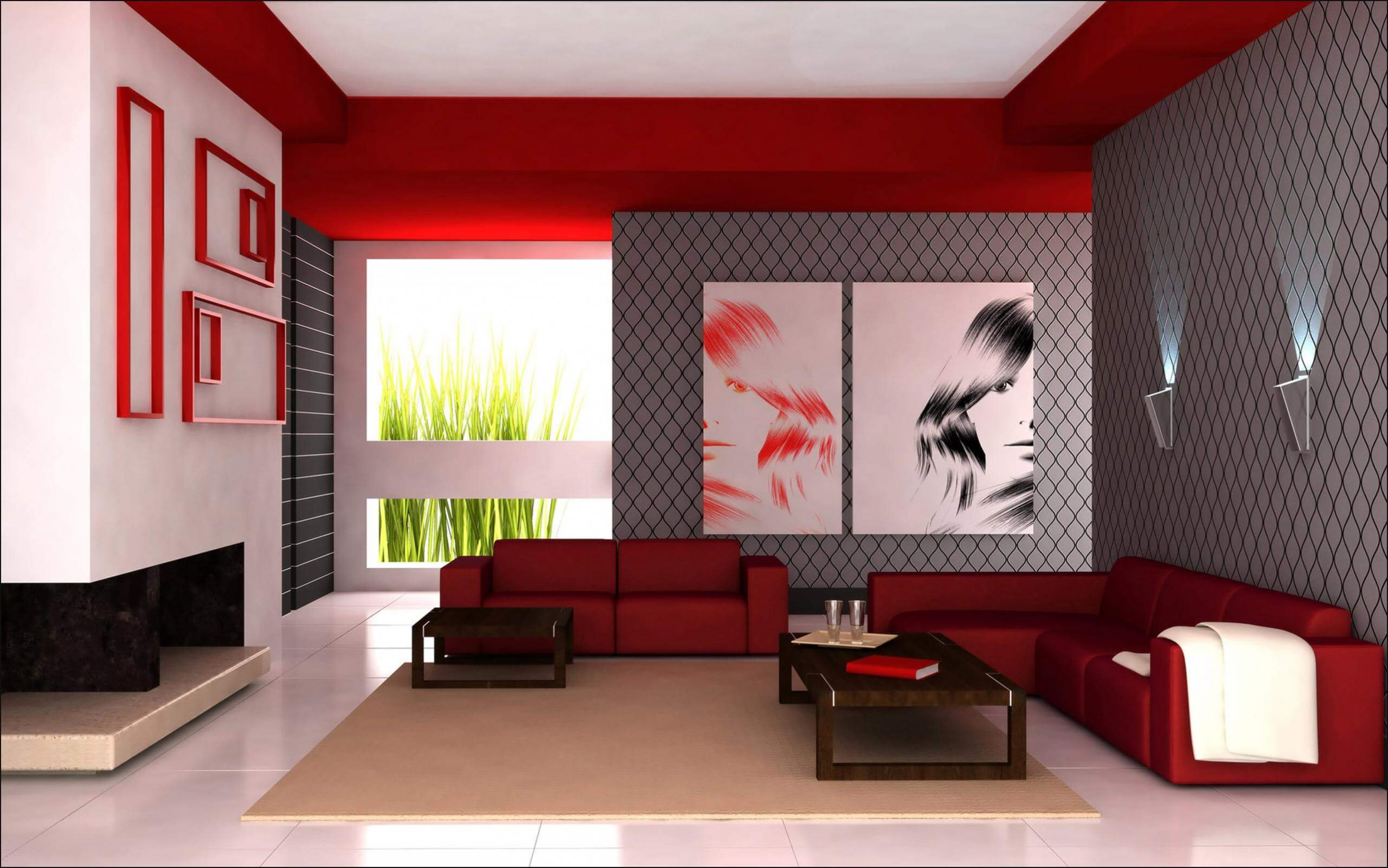 Tips For Painting Your Living Room Red Wall Decorating Ideas