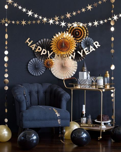 50 Best New Year Eve Wall Decoration Ideas 2021 with ...